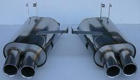 Stromung Bmw Performance Rear Section Exhaust Bmw Z4 M Coupe