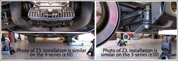 Strong Strut E30 Z3 Ti Bmw Rear Subframe Strut Brace