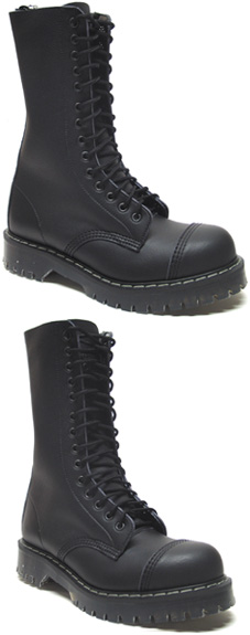 Airseal 14-Eye Steel-Toe Boot by Vegetarian Shoes