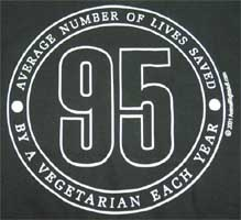 """95"" Design Shirt by Animal RightStuff"