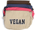 Vegan Messenger Bag by Animal RightStuff