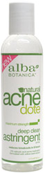AcneDote Deep Clean Oil-Free Astringent by Alba Botanica