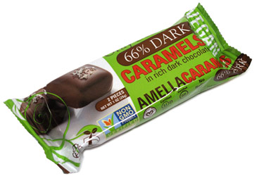 Amella Chocolate Covered Agave Nectar Caramels