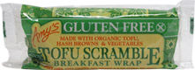 Gluten-Free Tofu Scramble Breakfast Wrap by Amy's Kitchen