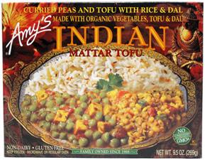 Indian Mattar Tofu by Amy's Kitchen