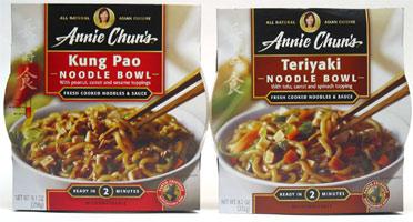 Annie Chun's Noodle Bowls