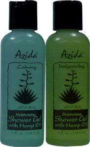 Hemp Oil Shower Gel by Azida