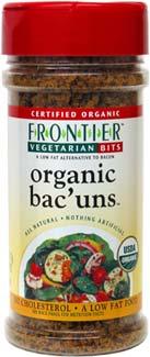 Organic Bac'uns Bacon Bits Alternative
