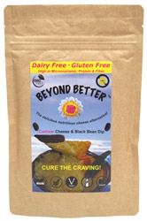 Organic Cashew Cheese & Black Bean Dip by Beyond Better