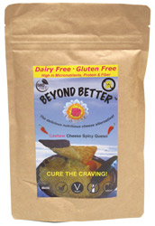 Organic Cashew Cheese Spicy Queso Dip by Beyond Better