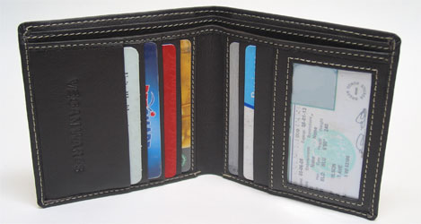 Bi Fold Wallet From Vegan Wares Veganessentials Online Store