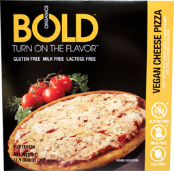 Bold Organics Vegan Cheese Pizza
