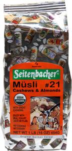 Organic Musli Cereal by Seitenbacher