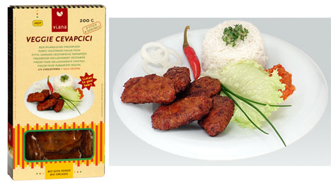 Organic Mediterranean Sausages (Cevapcici Style) by Viana