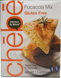 Gluten-Free Focaccia Mix by Chebe