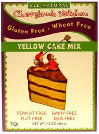 cherrybrook kitchen gluten free yellow cake mix veganessentials