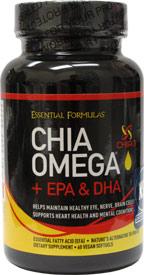 Chia Omega + EPA & DHA by Essential Formulas