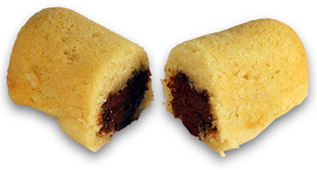 Dillo with Chocolate Filling by Cakewalk Baking Co