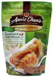 Organic Shiitake & Vegetable Potstickers by Annie Chun's