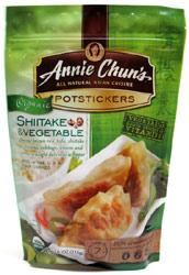 Organic Shiitake & Vegetable Potstickers by Annie Chun's
