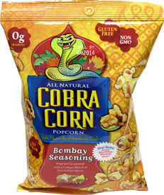 Bombay Seasoning Cobra Popcorn