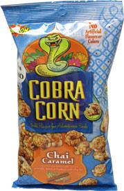 Caramel Chai Cobra Popcorn