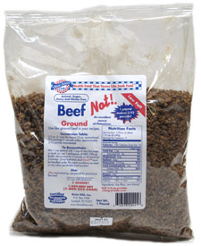 Ground Beef(Not) Bits by Dixie Diner