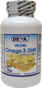 DEVA Omega-3 DHA Supplement