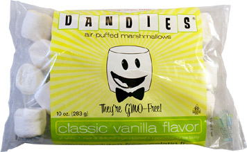 Dandies Non-GMO Air-Puffed Vegan Marshmallows by Chicago Vegan Foods