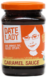 Organic Vegan Caramel Sauce by Date Lady