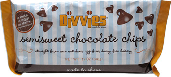 Vegan Chocolate Chips by Divvies