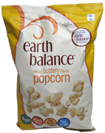 Vegan Buttery Flavor Popcorn by Earth Balance