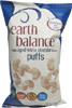 Vegan Aged White Cheddar Flavor Puffs by Earth Balance