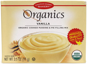 Organic Pudding Mixes by European Gourmet Bakery