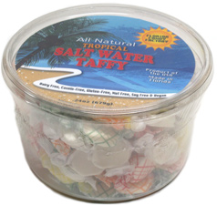 All Natural Tropical Salt Water Taffy by Florida Candy Factory