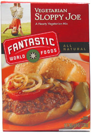 Vegan Sloppy Joe Mix by Fantastic Foods