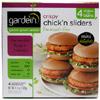 Crispy Chick'n Sliders by Gardein