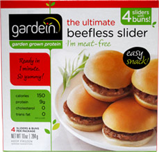 Ultimate Beefless Sliders by Gardein