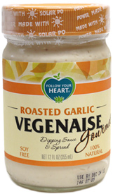 Roasted Garlic Vegenaise by Follow Your Heart