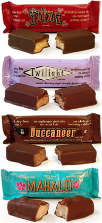 Vegan Candy Bars by Go Max Go Foods