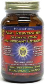 Acai Resveratrol Ultimate ORAC Antioxidant Extreme by HealthForce