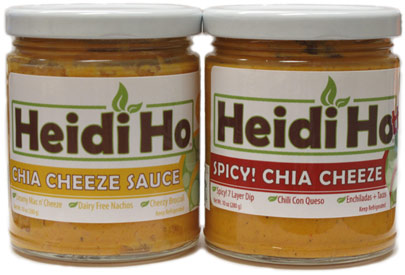 Chia Cheeze Sauces by Heidi Ho Veganics