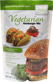 Vegetarian Hamburger Mix by Harmony Valley