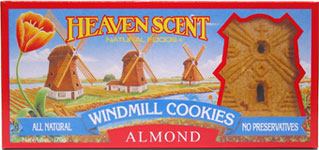 Heaven Scent Almond Windmill Cookies