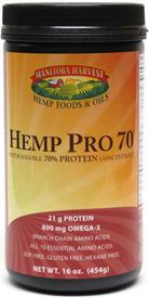 Hemp Pro 70 Hemp Protein Concentrate by Manitoba Harvest