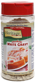Creamy White Gravy by Heritage Health Food