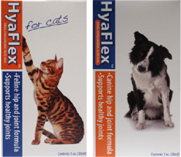 HyaFlex Hip and Joint Supplement for Cats and Dogs by Hyalogic