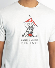 Animal Cruelty - It's In Tents T-Shirt by My Voice