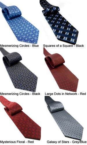 Non-Silk Neckties by Jaan J.