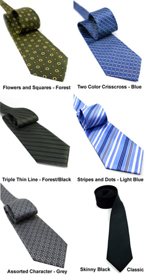 Non-Silk Neckties by Jaan J. - New Styles Part 2